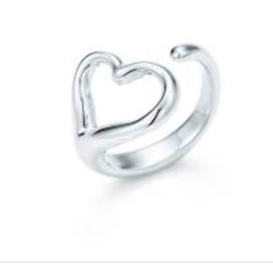 Elsa Peretti Open Heart Tiffany & Co. Ring